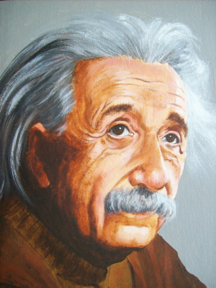 Albert Einstein par Tom-Heyburn